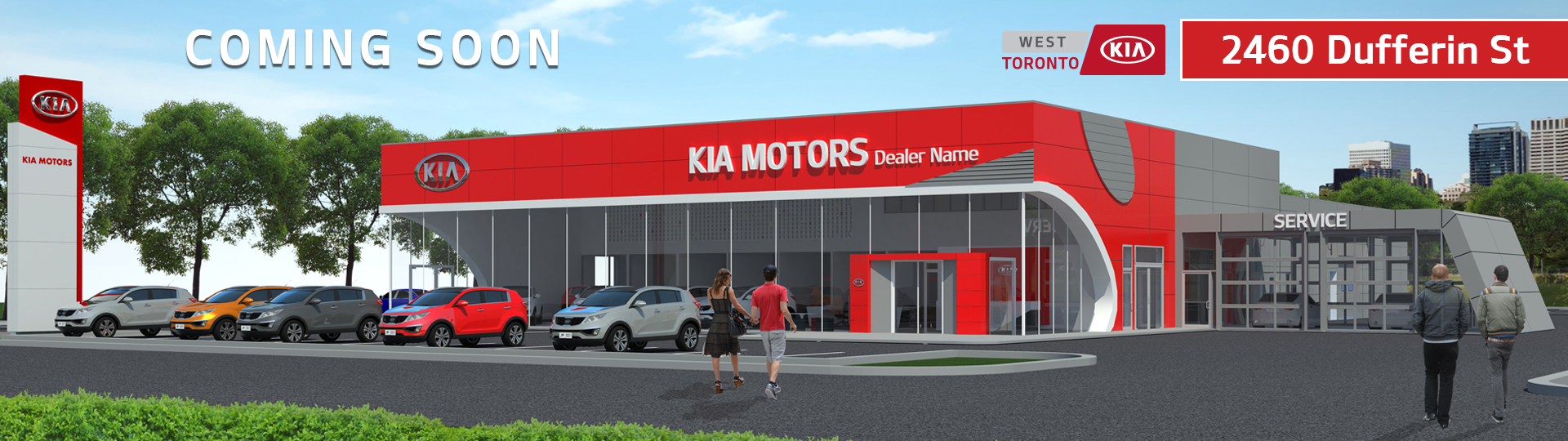 Coming Soon: West Toronto Kia
